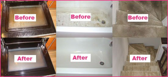 Before And After House Cleaning Photos